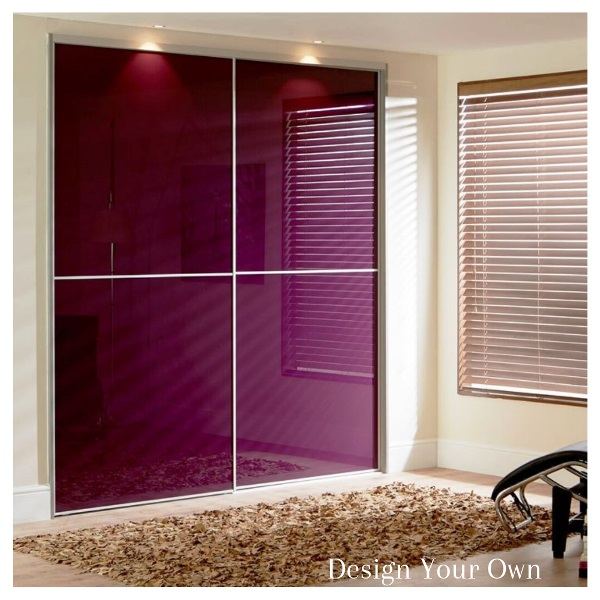 Design your own sliding wardrobe doors using our online tool