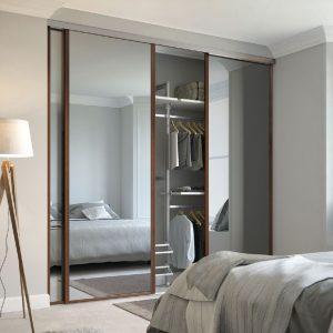 Custom made Linear Bedroom Wardrobes