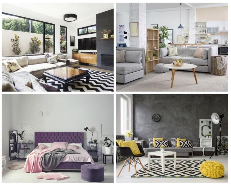 Contemporary home design board