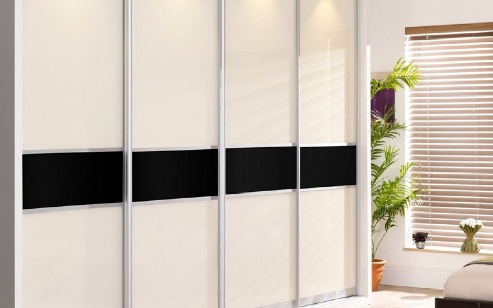 Monaco sliding wardrobe doors