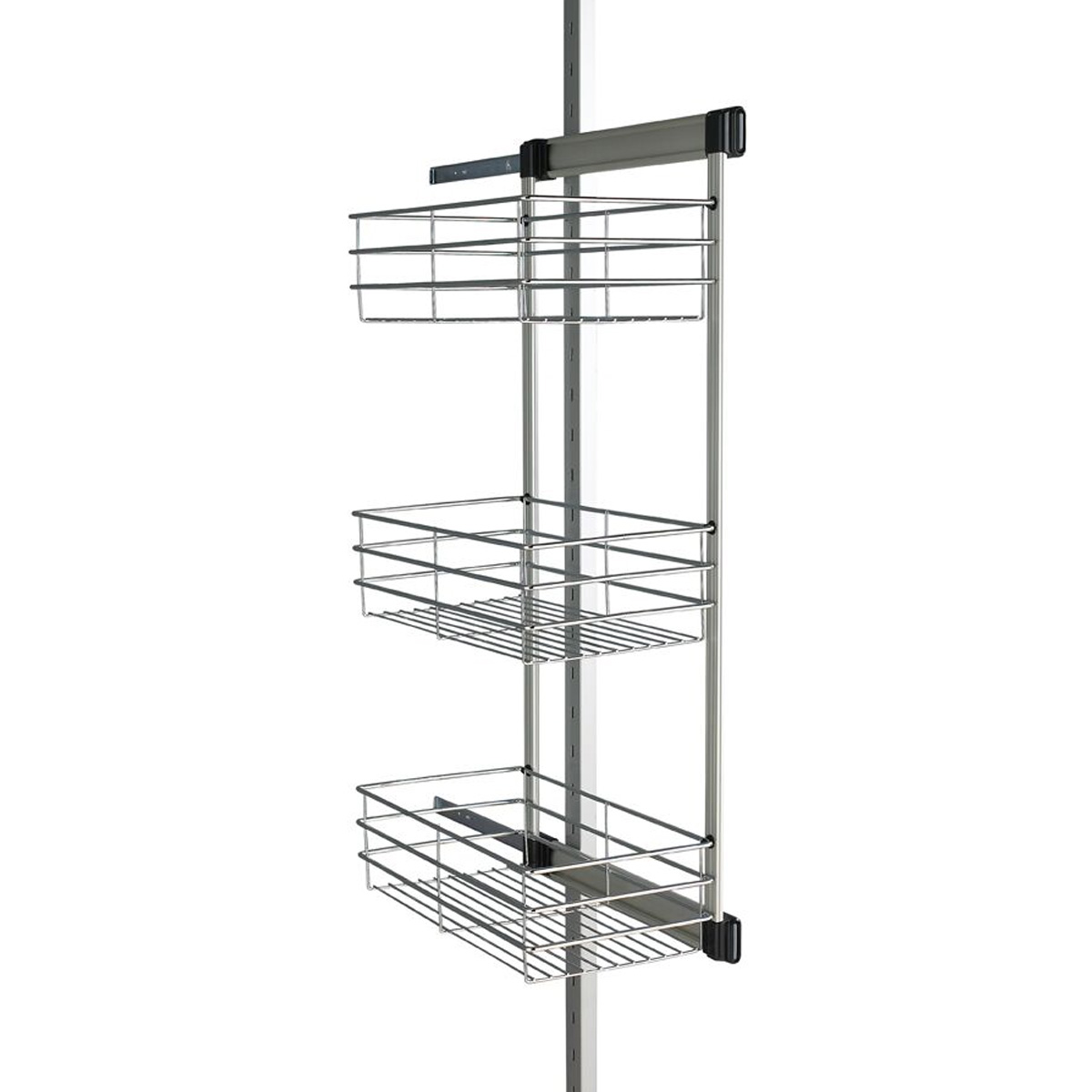 Aura Sliding Basket Rack