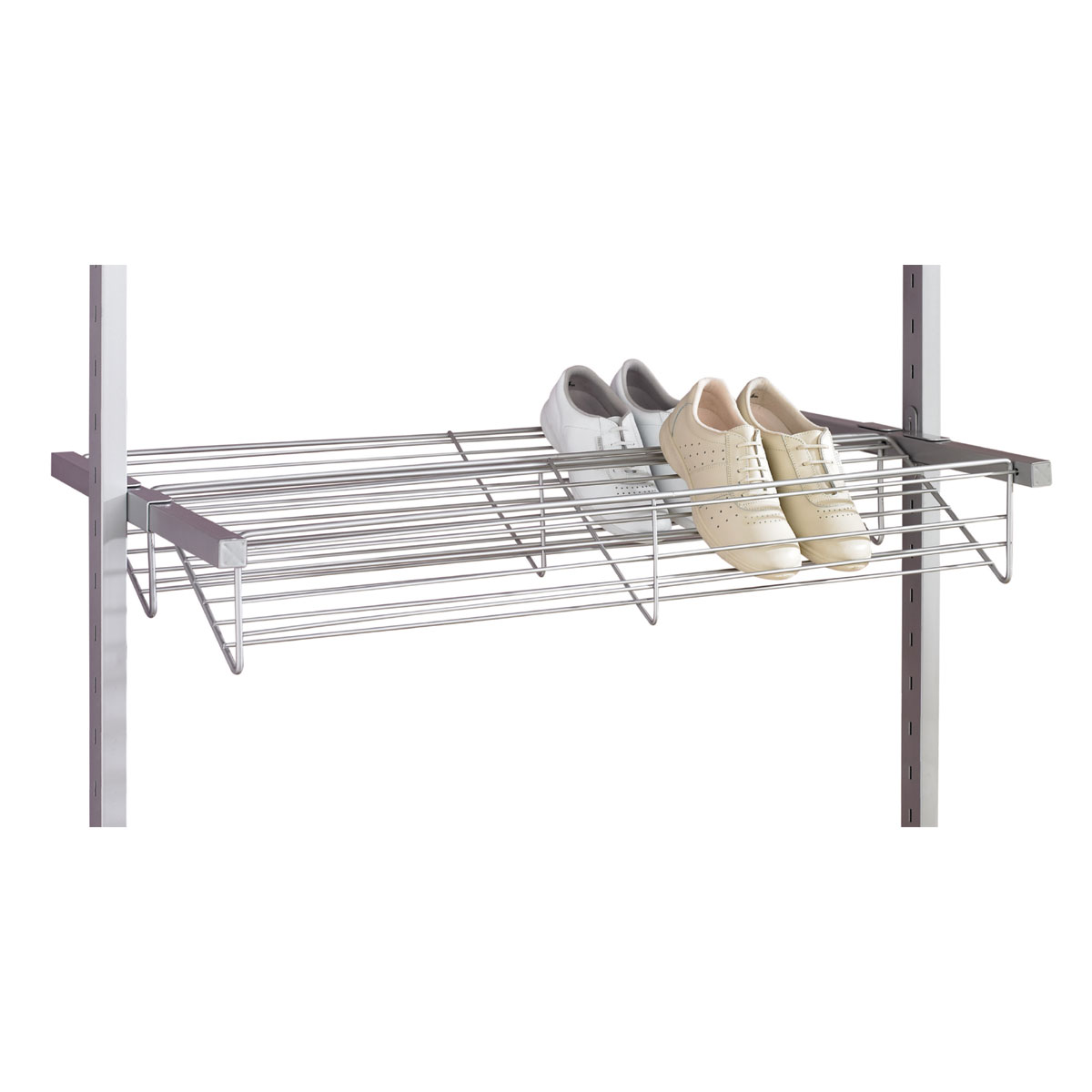 Aura Steel Shoe Rack