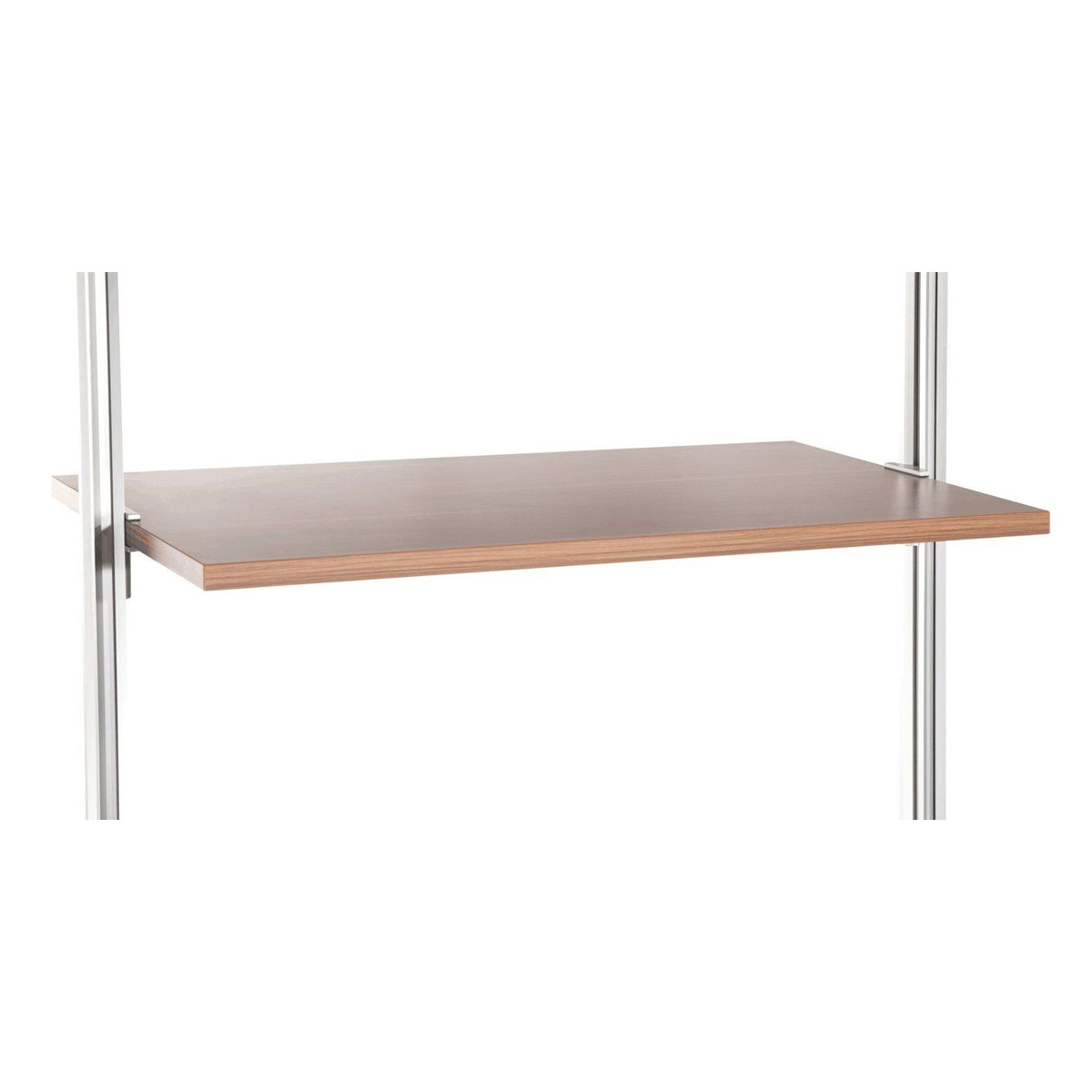 Relax Walnut Shelf Kit 1220x500mm
