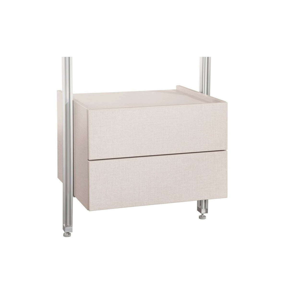 Relax Linen Double Drawer Box Kit 550mm