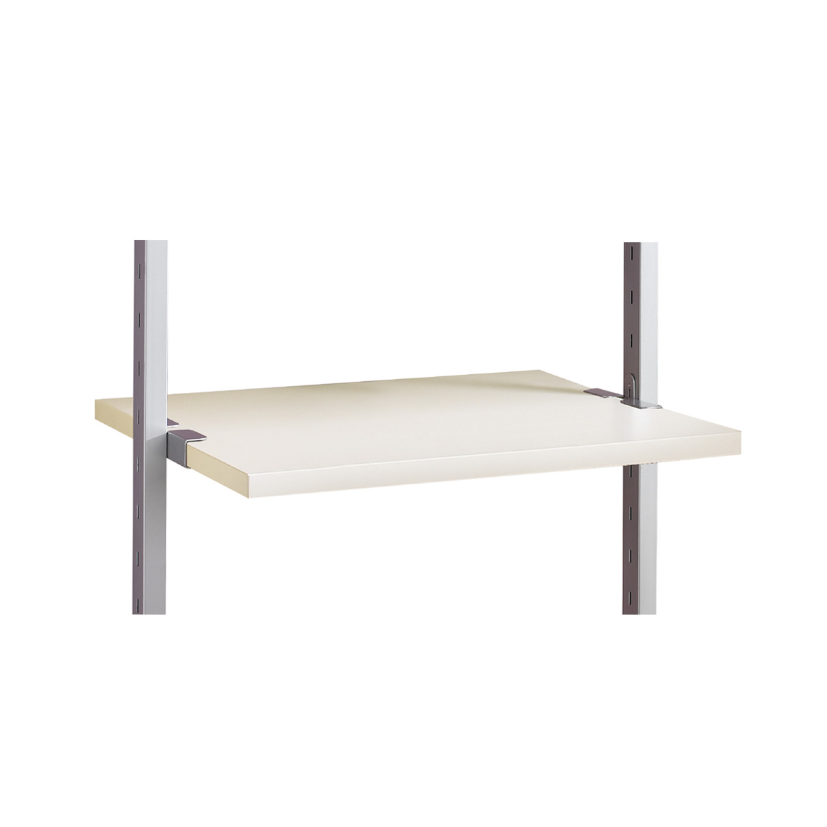 Small Wide Shelf (550mm) White