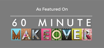 As featured on 60 minute makeover